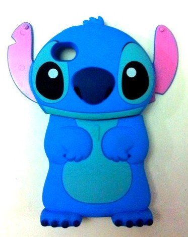 5pcs Wholesale *Animal* 3D STITCH! Has A Glitch Covers Cases for iPhone 4 4S, Best Quality, Free Shipping, Best Gifts(China (Mainland))