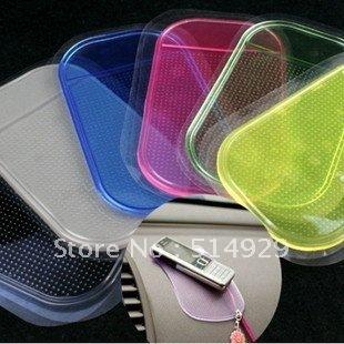 10pcs/lot Wholesale Magic Non slip sticky pad anti slip mat Car Anti slip Pad Washable Durable Use