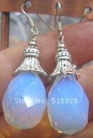 chinese tibet jewelry moonstone earring