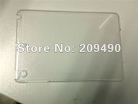 wholesale case 100pcs/lot hot Fashion super thin Transparency Clear Crystal Hard Shell Skin Cover Case For Apple iPad Mini