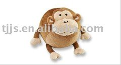 Hot! on sale plush monkey head , help your pets to increase vigour by means of biting or scratching(China (Mainland))