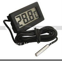 New Mini Digital LCD Thermometer Temperature Sensor Fridge Freezer Thermometer Free Shipping & Wholesale