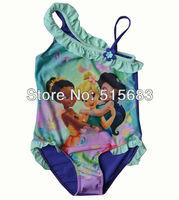 Розничная торговля продажа девочек фея Купальники tankini пляжная бикини купальник платье 3-9y купания праздник плавательный комплект
