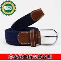 115cm*3.6cm 2014 NEW belt fashion general strap super elastic belt free shipping wholesale/retail