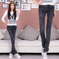 wholesale - trousers pencil pants plus size jeans women's denim skinny pants