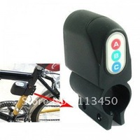 Motorbike Bike Alarm Security Bicycle Moped Steal Audible Voice Sound Digital Lock , freeshipping, dropshipping
