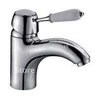 Widespread Faucets Water Filter Brass Zinc Alloy Handle Ceramic Spool Sink Vanity Bathroom Vessel Sink Faucets KF-3281