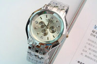 wholesale 2012 classic brief fashion male watch  1pc/lot free shipping