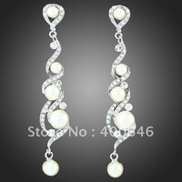 Free Shipping Arinna Earring E1548 with Austria Element