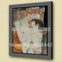 Best seller wall art reproduction famous oil painting of Gustav Klimt