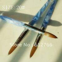 acrylic nail brush pure kolinsky size 20#