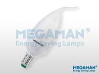 30Pcs MEGAMAN Tip candle CFL lamp 5W/E14 CL405CS/TP  PROMOTION  cool white