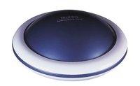 New arrival UFO Talking Alarm Clock blue & white