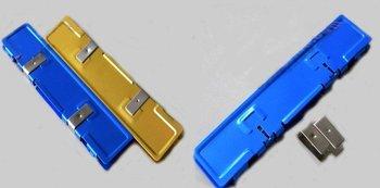 Free Shipping Two-side Memory Cooler Heat Spreader Heatsink Shim For DDR&RAM Memory