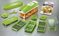 New Nicer Dicer Plus 10-piece Multi Vegetable Chopper/Fruit Slicer