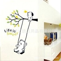 4pcs Free shipping , 35*50CM, DIY Wall Sticker  Home Decor Room Decorations Decals 002001 (63)