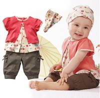 Комплект одежды для девочек Baby girl 2pcs MINNY printed tops + pant set /kid cartoon clothing set/baby girl character set