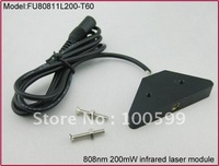 FU80811L200-T60 808nm 200mw infrared laser diode module with Laser Adapter