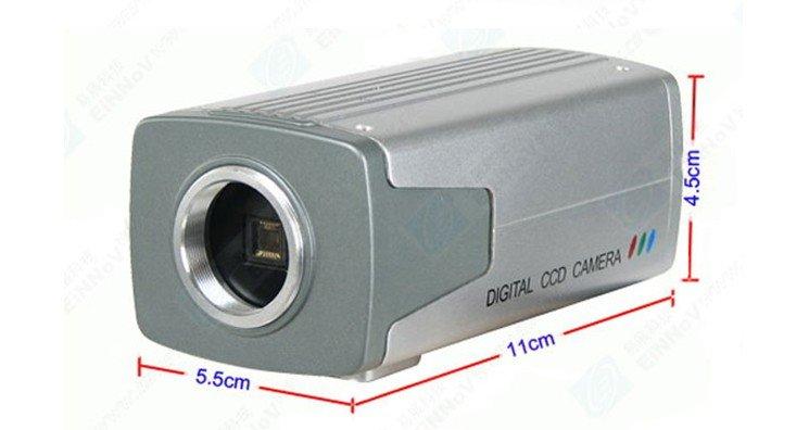 Free Shipping Sony 420TVL CCD Color BOX CCTV FREE Lens CCTV Security Camera E26(China (Mainland))