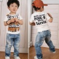 Best Selling!!Top quality Boys' Jeans Children Jean baby pants Boy's Jeans Holes trousers+ free shipping 1 piece