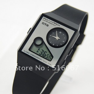 free shopping AUDI ots new arrival mv , watch ultra-thin dual display OTS ak-03(China (Mainland))