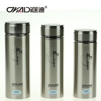 Free Ship promotion 10 Vacuum Cup Insulated Double Layer Vacuum Flask Casual Stainless Steel Office Water Mug Gift 360ML/500ML