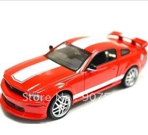 1:32 alloy car model RMZ ford mustang sports car car acousto-optic edition children's toys back inertia car