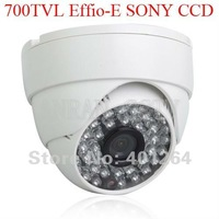 700TVL 1/3 Sony Effio CCD 48IR Indoor Dome CCTV Security Camera