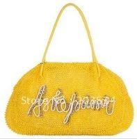 Hot sale-2012 Fashion ladies' handbag, US Popular bag,Simple Crystal diamond shoulder bags for Christmas gifts free shipping