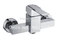 Single Handle Bathroom Vessel Faucets Brass Zinc Alloy Handle Ceramic Spool Sink Vanity Perfect Hose KF-6034A
