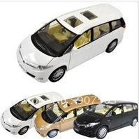 Rise bright children toy car 1:32 Toyota estima previa alloy car model acousto-optic back