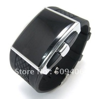 DHL Free Shipping 20pcs/lot , Quality Fashion and high LED rectangle watches