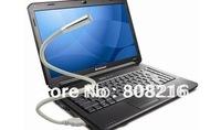 B Free Shipping 10Pcs/lot Novelty Gift  Flexible Cute LED Keyboard USB Lamp Notebook Light Lamp Energy Saving