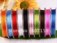 FREE SHIPPING Mixed Color Crystal Bubber Stretch Elastic Beading Cords Thread For DIY Bracelet Necklace Making Wholesale