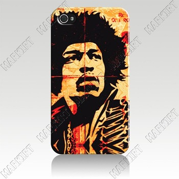 Luxury New Hot design cover case for iphone 4 4s 10pcs/lot Wholesale Free Shipping to US IZC1590  obey jim HENDRIX