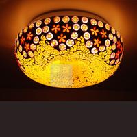 Meiqi lighting bohemia broken glass ceiling light console balcony lamp bedroom lamps