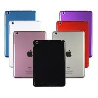 All Country DHL  Free Shipping, High Quality Hard Plastic Cover Case For ipad mini,500PCS/LOT, C0038