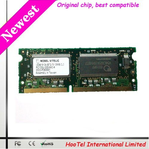 128MB PC133 SDRAM MEMORY notebook SODIMM PC133u-333-542-A SO-DIMM 144PIN(China (Mainland))