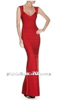 SEXY RED women formal evening bandage dress on sale