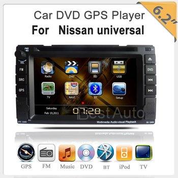 "For Nissan Qashqai/Tiida/Paladin/Frontier/Navara//Micra/Patrol/Sentra/versa/Juke Virtual 8 DISC  6.2""TFT GPS/DVD/BT/Ipod/TV"