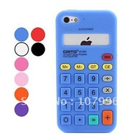 Calculator silicone Case for iPhone 5 5G 20Pcs/lot