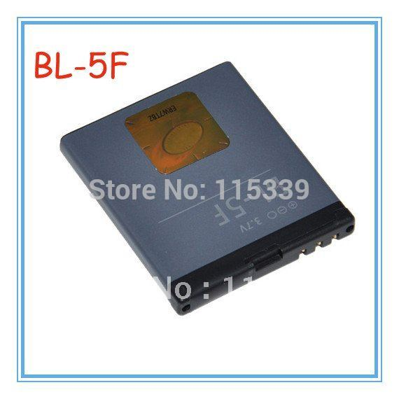 Free shipping BL-5F / BL 5F Battery Use for Nokia 6290 E65 N93i 6210 N96 6210S 6710N N95 5PCS/LOT(China (Mainland))