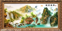Hand painted landscape oil painting0012