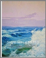 Hand painted landscape oil painting0011