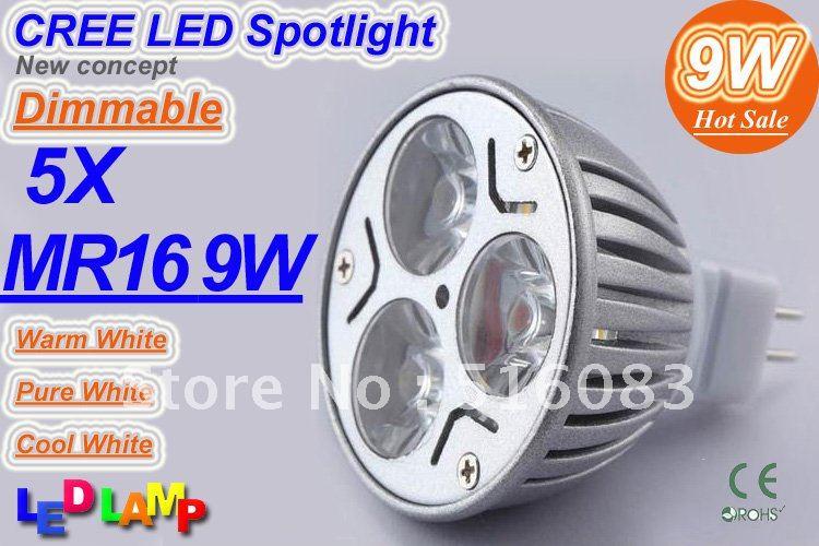 5X-Dimmable-MR16-9W-3x3W-CREE-High-power-LED-Spot-Light-Bulb-Spotlight
