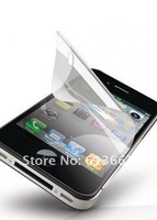 Wholesale 1000pcs/lot  Clear Screen Protector Cover Protective LCD Film For Apple iPhone 4 Screen Guard no Retail Package
