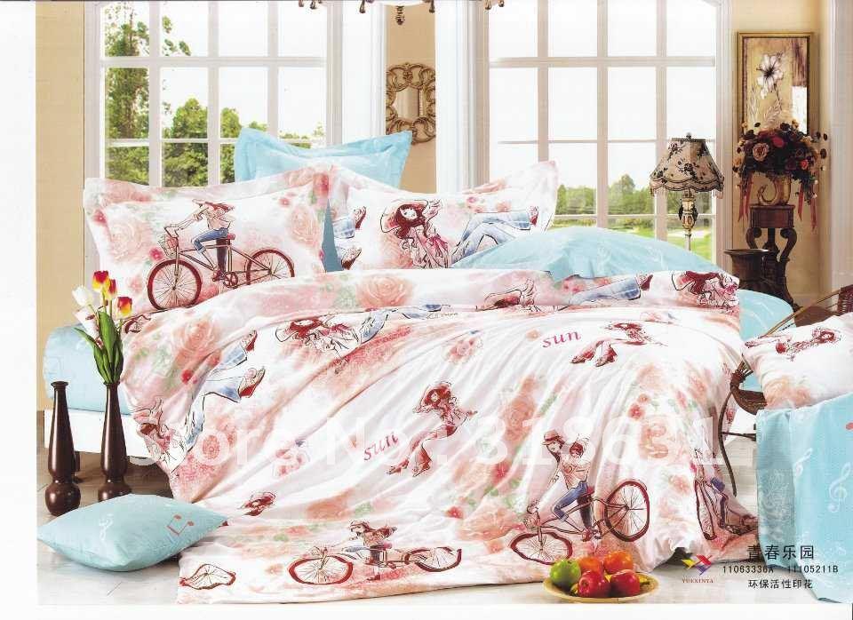 Ontwerper slaapkamer beddengoed koop goedkope ontwerper slaapkamer beddengoed loten van chinese - Schilderij slaapkamer meisje ...