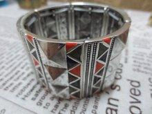 wholesale silver hinged bracelet
