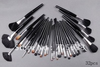 new Cosmetics MAKEUP BRUSH 32 Pieces/set Professional Brush with numbe and leather Pouch SS1