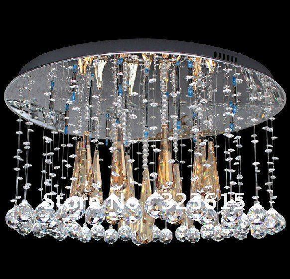 modern fashion k9 crystal ceiling lamp crystal chandelier lights living room bedroom dia 650mm bedroom chandelier lighting